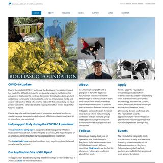 Home - Bogliasco Foundation