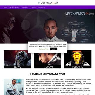 Lewis Hamilton Supporters Site - Welcome to LewisHamilton-44.com