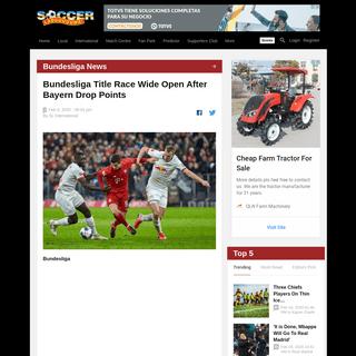 Bundesliga Report- Bayern Munich v RB Leipzig 09 February 2020
