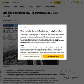ArchiveBay.com - trojmiasto.onet.pl/gdansk-nie-zyje-radny-pis-dawid-krupej/e0hdtmj - Gdańsk. Nie żyje radny PiS Dawid Krupej - Trójmiasto