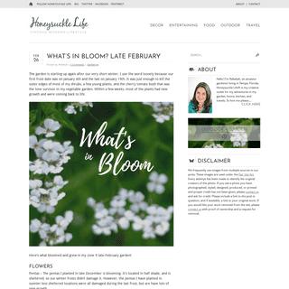 Honeysuckle Life - Gardening and Lifestyle Blog