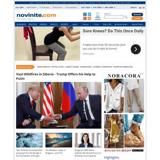 Novinite.com - Sofia News Agency, Bulgarian news in English, EU, world