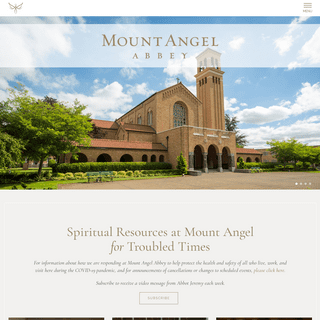 Home - Mount Angel Abbey