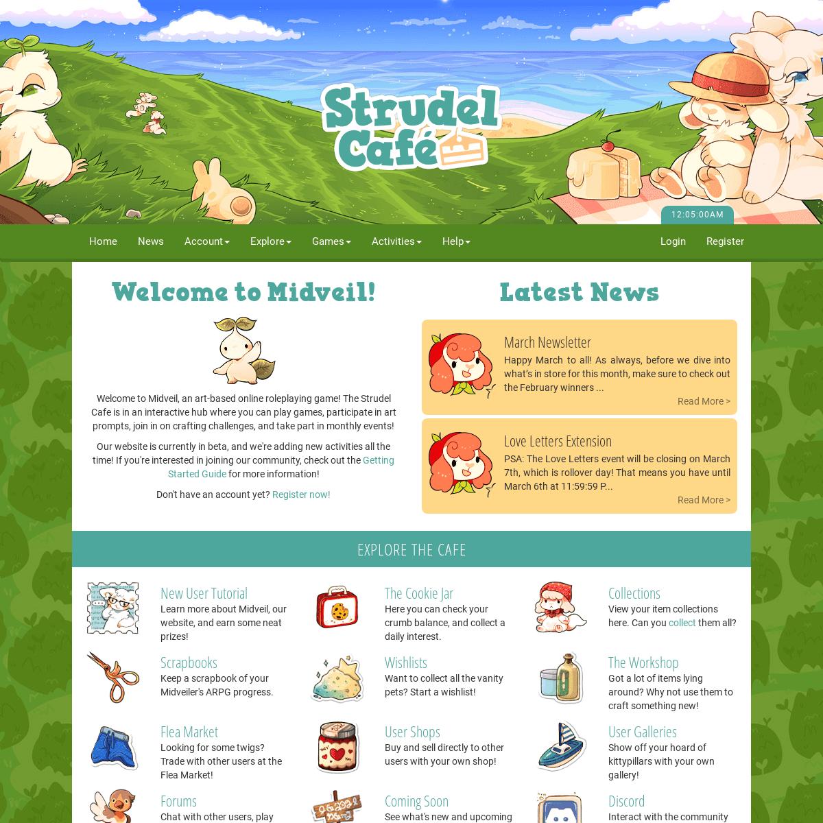 Home Strudel Cafe