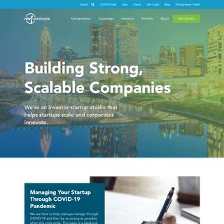 Venture Capital Funding & Startup Studio - Columbus, Ohio - Rev1 Ventures
