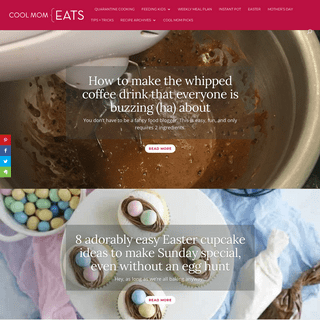 Cool Mom Eats- Down-to-earth recipes + help that make parenting easier