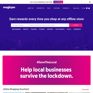 magicpin - Earn rewards for shopping at offline stores
