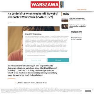 ArchiveBay.com - www.se.pl/warszawa/na-co-do-kina-w-ten-weekend-nowosci-w-kinach-w-warszawie-zwiastuny-aa-KMFT-4qrb-kPuV.html - Na co do kina w ten weekend- Nowości w kinach w Warszawie [ZWIASTUNY] - Super Express