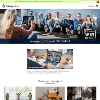 Team-Events, Teambuilding, Firmenevents für mehr Wir-Gefühl - teamgeist.com