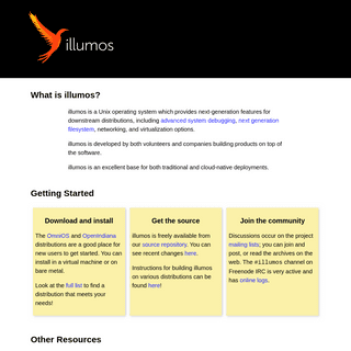 A complete backup of illumos.org