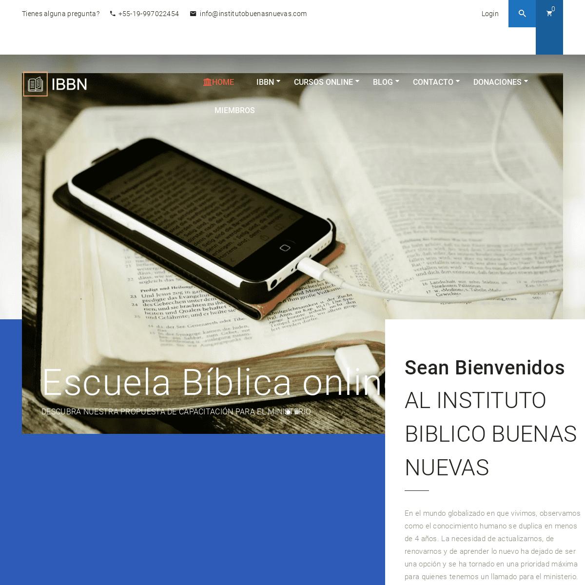 Home – Instituto Buenas Nuevas