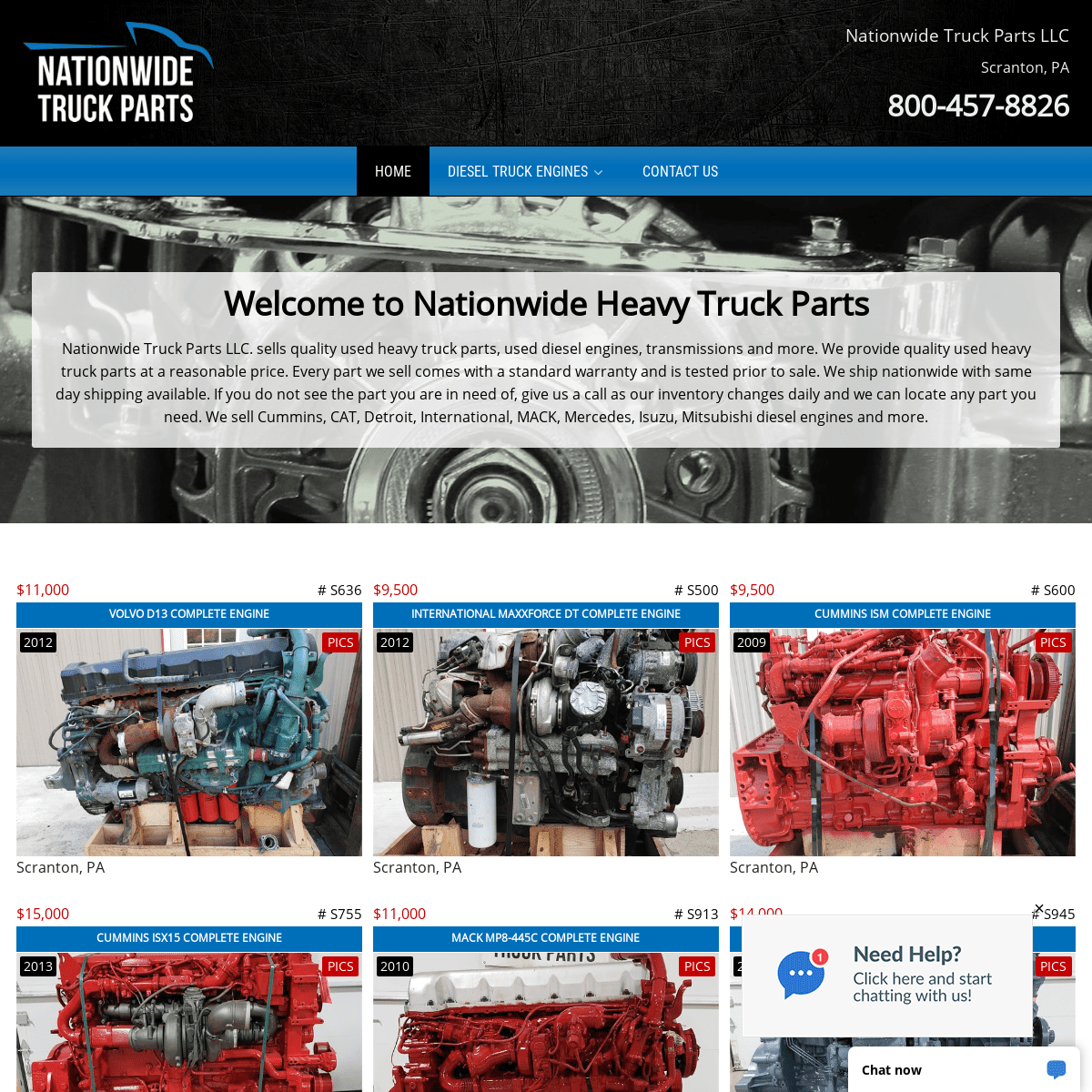 Nationwide Heavy Truck Parts - Nationwide Heavy Truck Parts