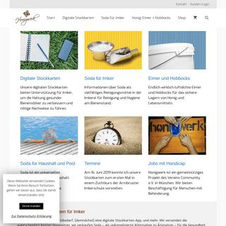 Honigwerk - Imkereibedarf, digitale Stockkarten und mehr