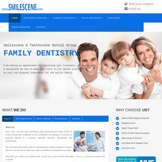 Lanarkshire Family Dentists - Smilescene and Teethscene Dental Practice Group