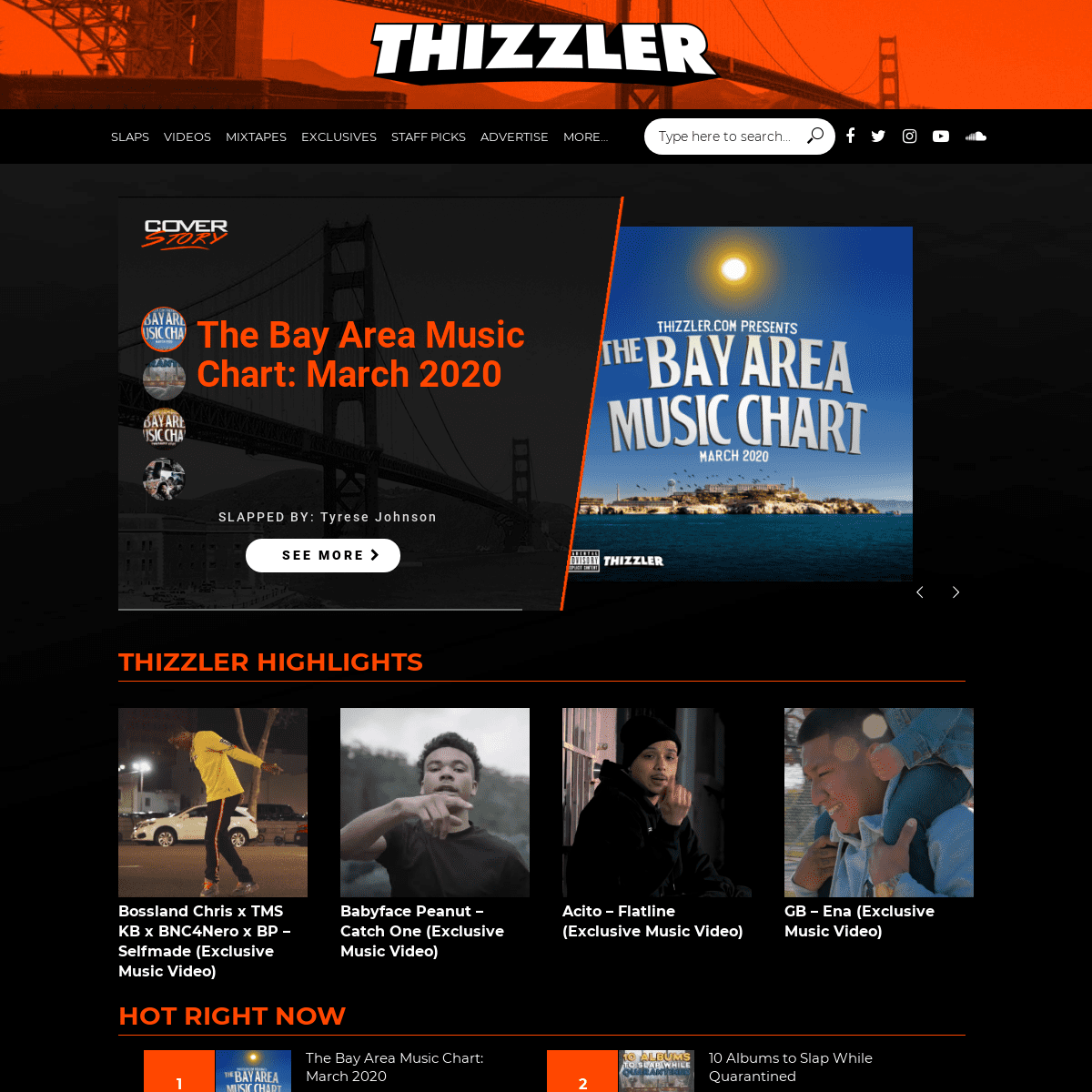 ArchiveBay.com - thizzler.com - Thizzler On The Roof - The official home for Bay Area music
