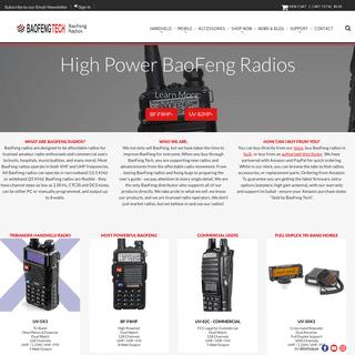 BaoFeng Radio - BaoFeng Tech