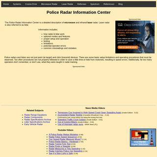 Police Radar Information Center