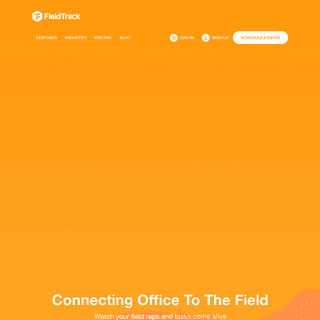 Field Service Management Software - Field Service Tracking Mobile App