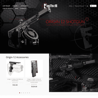 Home - FosTecH Inc- making the world safer one firearm at a time.™