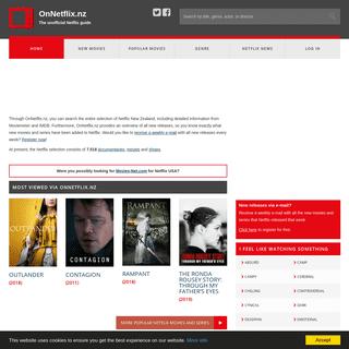 All Netflix movies and series - OnNetflix.nz