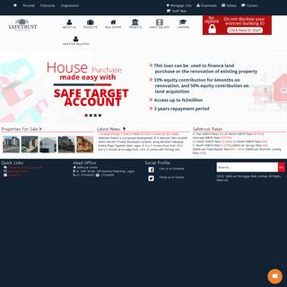 Safetrust Mortgage Bank Ltd