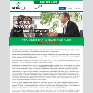 Construction, Rental and Home Improvement Services – Kerneli Services