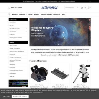 Astro-Physics