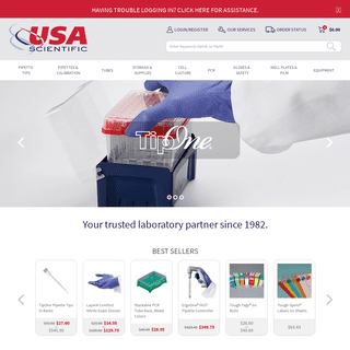 ArchiveBay.com - usascientific.com - home - USA Scientific, Inc