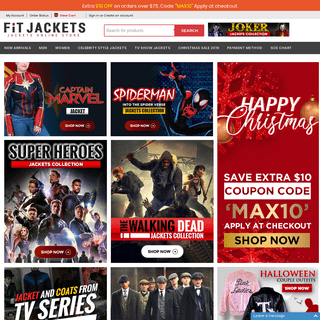 ArchiveBay.com - fitjackets.com - Shop Your Favorite Celebrity Jackets From Movies, Tv Series & Games - Fit jackets