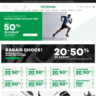 ArchiveBay.com - sportium.ca - Sportium - Votre magasin de sport québécois