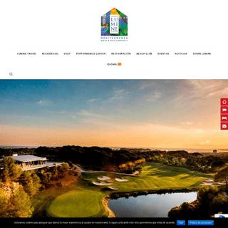 Lumine - LUMINE Beach & Golf Community