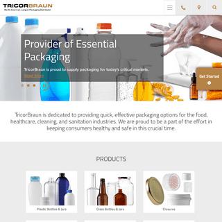 Rigid & Flexible Packaging, Glass & Plastic Bottles, Custom Designed Packaging - TricorBraun