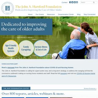 Homepage - The John A. Hartford Foundation