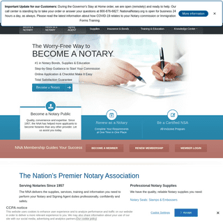 National Notary Association - NNA