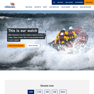 ArchiveBay.com - rnli.org - RNLI - Royal National Lifeboat Institution - Saving Lives at Sea