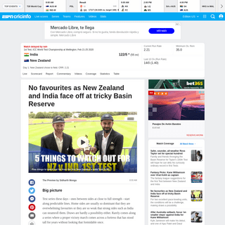 ArchiveBay.com - www.espncricinfo.com/series/19430/preview/1187685/new-zealand-vs-india-1st-test-icc-world-test-championship - Match Preview - New Zealand vs India, ICC World Test Championship 2020, 1st Test - ESPNcricinfo.com