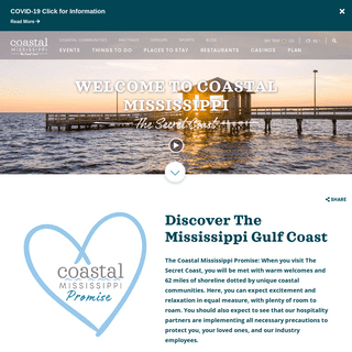 Mississippi Gulf Coast Hotels, Events & Things to Do