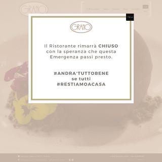 Ristorante Grano - Il tuo ristorante nel centro di Roma