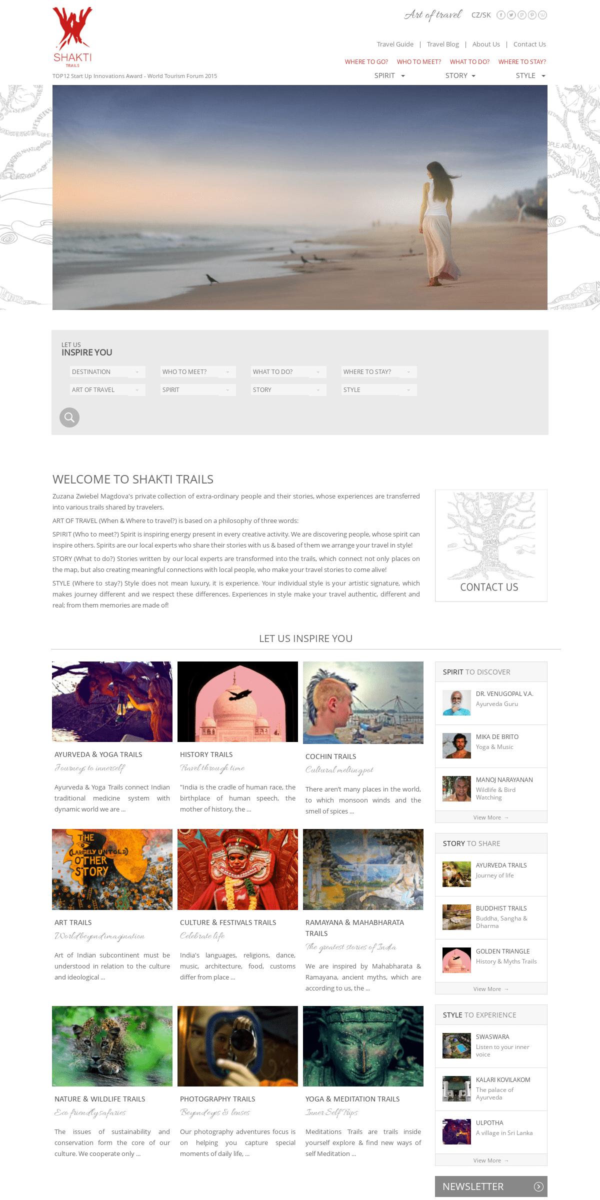 ArchiveBay.com - shaktitrails.com - Welcome to Shakti Trails