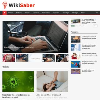 WikiSaber - La Web con Todo el Conocimiento de Nuestro Mundo
