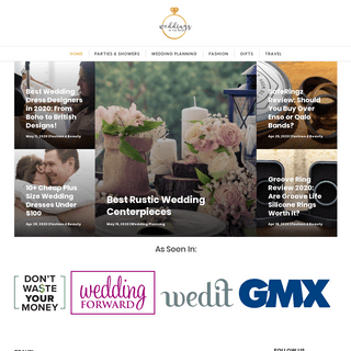 The Only Source for Wedding Planning & Reception Ideas for 2020