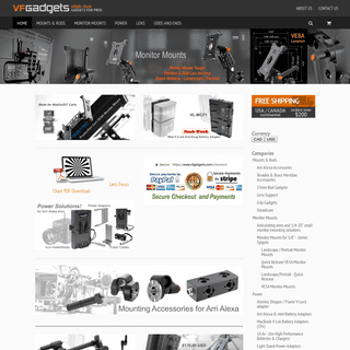 Gadgets, Gear and equipment for Video and Film