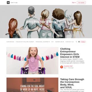 ArchiveBay.com - amysmartgirls.com - Amy Poehler's Smart Girls