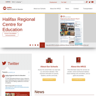 Halifax Regional Centre for Education - Providing a high quality education for every student every day