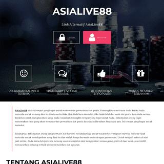 ASIALIVE88 - Link Alternatif AsiaLive88 (Mobile)