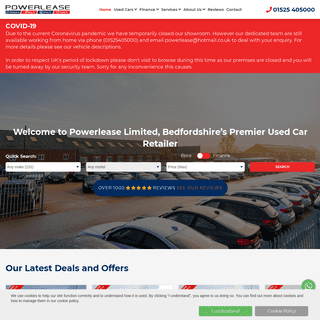 Used cars for sale in Ampthill & Bedfordshire- Powerlease Limited