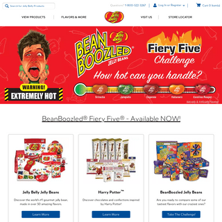 Official Site of Jelly Belly Candies and Confections