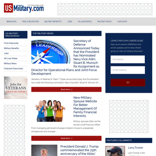 Military and Veteran Benefits, News, Joining Military - US Military