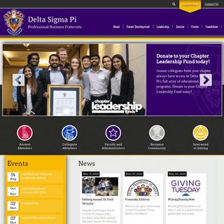 Delta Sigma Pi - Professional Business Fraternity