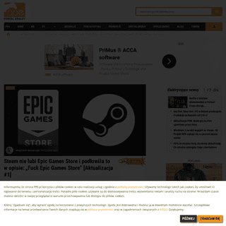 """Steam nie lubi Epic Games Store i podkreśla to w opisie- """"Fuck Epic Games Store"""" - PPE.pl"""